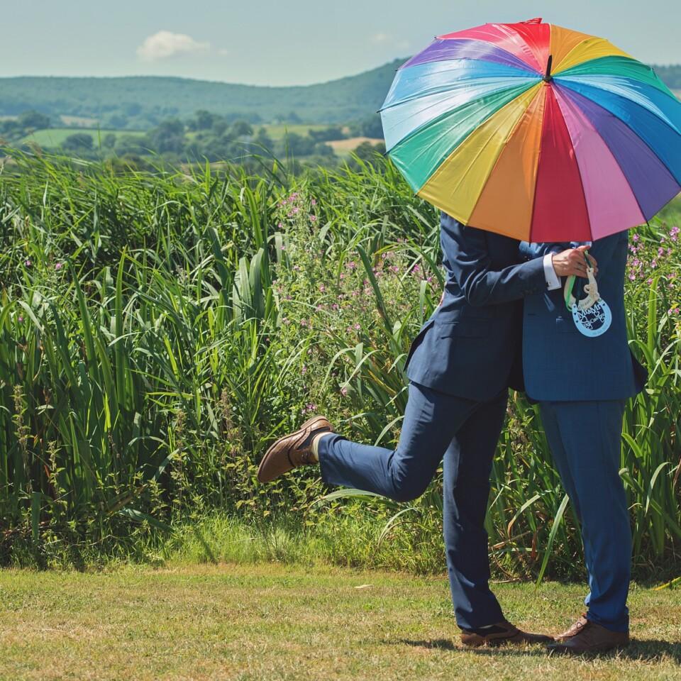 Gay weeding ceremony